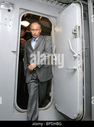 President Putin on a visit to St. Petersburg - Stock Photo