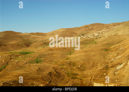Azerbaijan, Small village in the countryside, northern mountainous azerbaijan close to Xinaliq - Stock Photo