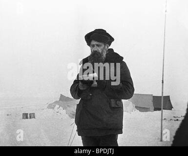 Soviet explorer and scientist Otto Schmidt - Stock Photo