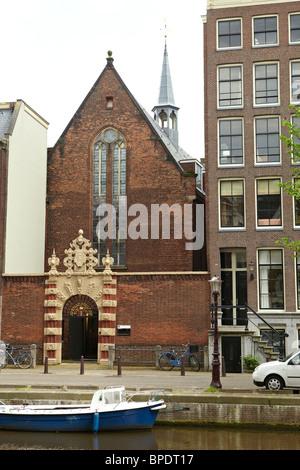 Agniet kapel in Amsterdam - Stock Photo