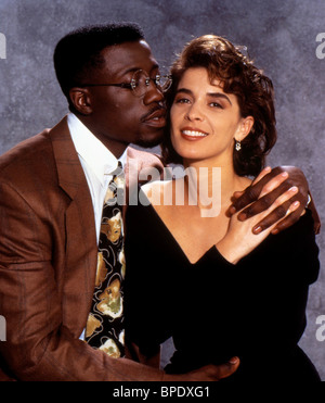 WESLEY SNIPES, ANNABELLA SCIORRA, JUNGLE FEVER, 1991 - Stock Photo