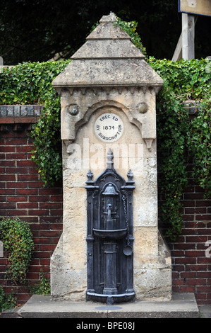 An old water fountain in Lewes - Stock Photo
