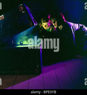 JUSTIN SHENKAROW & OMRI KATZ EERIE INDIANA ; EERIE INDIANA (1991) - Stock Photo
