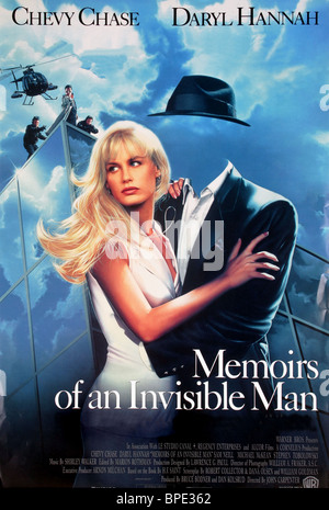 an overview of the memoirs of an invisible man Memoirs of an invisible man is a fun popcorn movie, never meant to be much else, but of course, carpenter does throw in a bit of mistrust of the government neill is always an awesome villain, and .