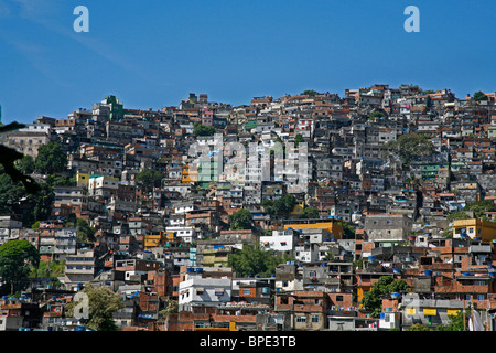 Rocinha favela, Rio de Janeiro, Brazil. - Stock Photo