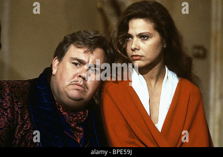 JOHN CANDY, ORNELLA MUTI, ONCE UPON A CRIME..., 1992 - Stock Photo