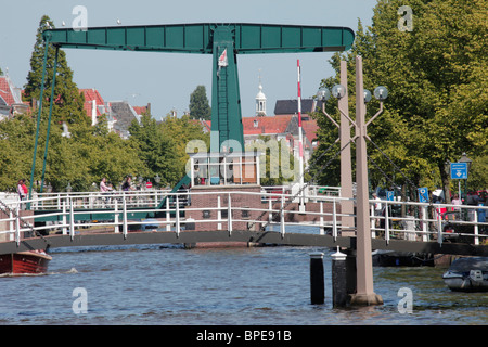 Leiden in the Netherlands - Stock Photo