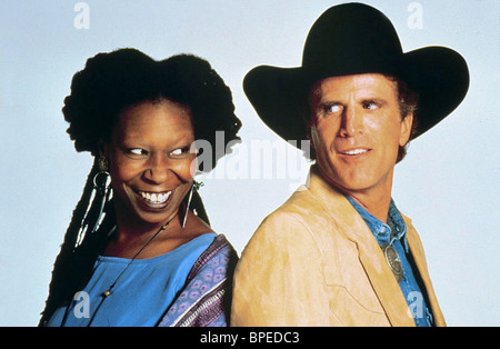 WHOOPI GOLDBERG & TED DANSON MADE IN AMERICA (1993) - Stock Photo