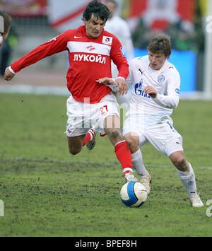 Russian football championship match: Zenit St Petersburg 0-0 Spartak Moscow - Stock Photo
