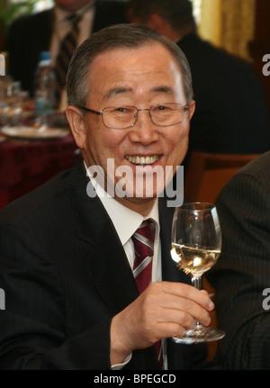 United Nations Secretary-General Ban Ki-moon - Stock Photo