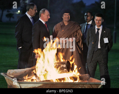 President Putin on official visit to Libya - Stock Photo