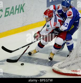 Euro Hockey Tour - Ceska Pojistovna Cup: Russia 4 - 1 Finland - Stock Photo