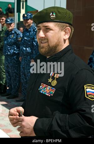 Chechen president Ramzan Kadyrov - Stock Photo