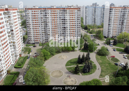 Moscow in pictures - Stock Photo