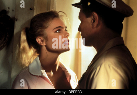 Erika Eleniak in waitress outfit in a scene from the film