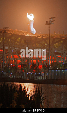 Beijing Olympic Games opening - Stock Photo