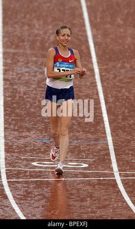 Beijing Olympic Games: women's 20km race walk - Stock Photo