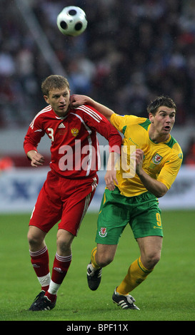 2010 FIFA World Cup Qualifications: Russia 2 - 1 Wales - Stock Photo