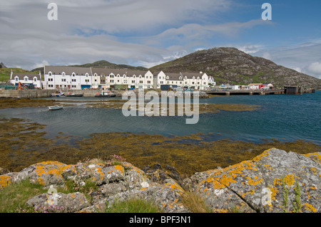 Lochboisdale ferry terminal Port, South Uist Outer Hebrides, Scotland.  SCO 6427 - Stock Photo
