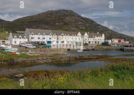 Lochboisdale ferry terminal Port, South Uist Outer Hebrides, Scotland.  SCO 6431 - Stock Photo