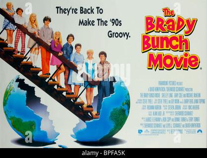 FILM POSTER THE BRADY BUNCH MOVIE (1995) - Stock Photo
