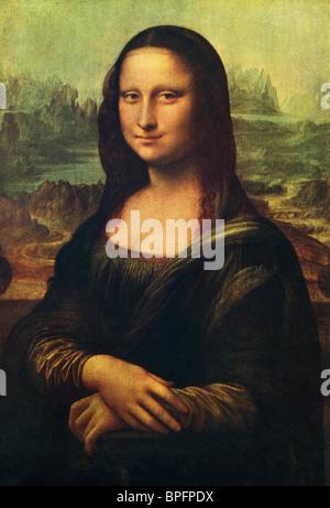 Mona Lisa by Leonardo da Vinci. - Stock Photo