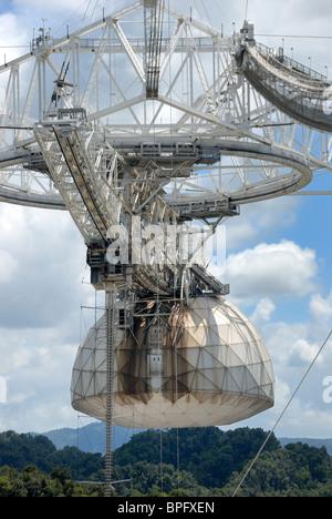 Radio Telescope, Arecibo Observatory, Puerto Rico - Stock Photo