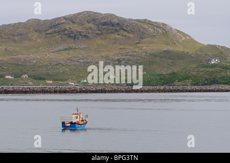 The Island of Eriskay from Ludag, South Uist, Outer Hebrides, Western Isles, Highland. Scotland.  SCO 6482 - Stock Photo