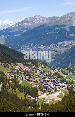 Grimentz, Switzerland - Stock Photo
