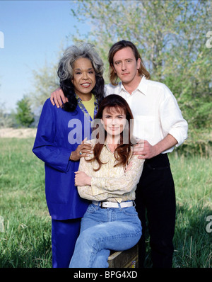 DELLA REESE, ROMA DOWNEY, JOHN DYE, TOUCHED BY AN ANGEL, 1997 - Stock Photo