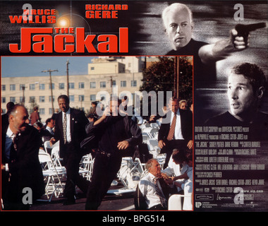 bruce willis amp richard gere the jackal 1997 stock photo