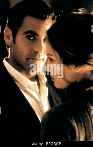 GEORGE CLOONEY, JENNIFER LOPEZ, OUT OF SIGHT, 1998 - Stock Photo