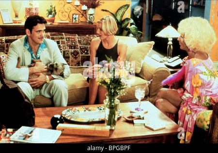 MATT DILLON CAMERON DIAZ LIN SHAYE THERE'S SOMETHING ABOUT MARY (1998) - Stock Photo