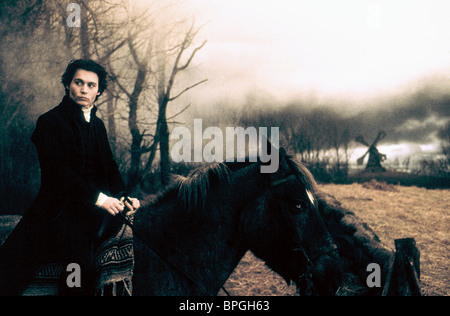 JOHNNY DEPP SLEEPY HOLLOW (1999) - Stock Photo