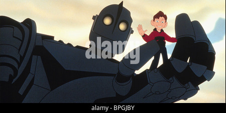 HOGARTH, THE IRON GIANT, THE IRON GIANT, 1999 - Stock Photo