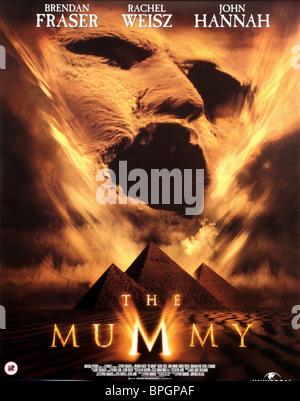 FILM POSTER THE MUMMY (1999) - Stock Photo