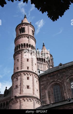 The Cathedral, Worms, Rheinland Pfalz, Germany - Stock Photo