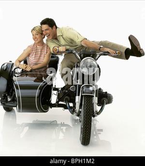 JENNA ELFMAN & THOMAS GIBSON DHARMA & GREG (2000) - Stock Photo