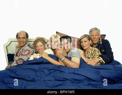 ALAN RACHINS MIMI KENNEDY JENNA ELFMAN THOMAS GIBSON SUSAN SULLIVAN & MITCHELL RYAN DHARMA & GREG (2000) - Stock Photo