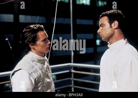 ETHAN HAWKE & LIEV SCHREIBER HAMLET (2000) - Stock Photo