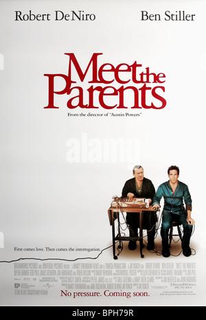 ROBERT DE NIRO & BEN STILLER POSTER MEET THE PARENTS (2000) - Stock Photo
