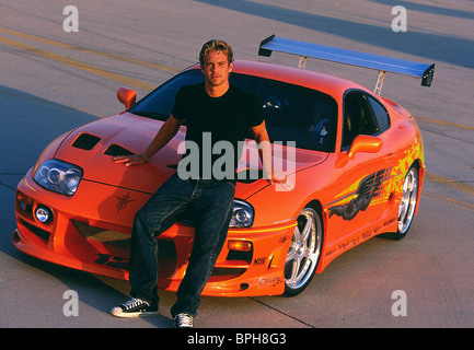 PAUL WALKER THE FAST AND THE FURIOUS (2001) - Stock Photo