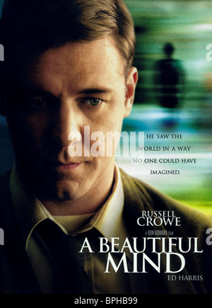 after watching the movie a beautiful mind with russell crowe as john nash Back in 2001, russell crowe moved movie viewers all over the world with his portrayal of mathematician john nash in a beautiful mind sadly, we've all lost that beautiful mind now, as nash, 86 .