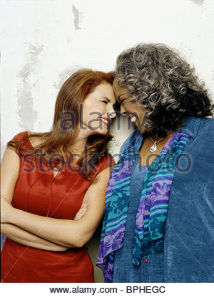 ROMA DOWNEY & DELLA REESE TOUCHED BY AN ANGEL (2001) - Stock Photo