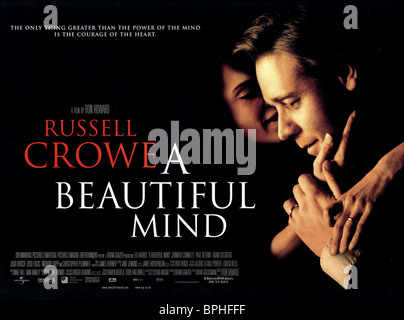 RUSSELL CROWE A BEAUTIFUL MIND (2001) - Stock Photo