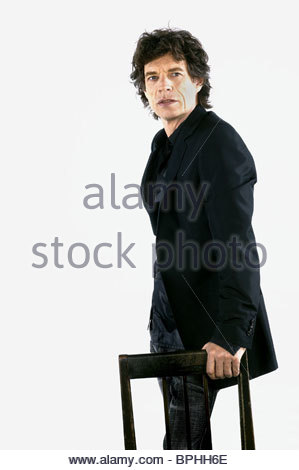 MICK JAGGER BEING MICK (2001) - Stock Photo
