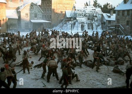 FIGHT SCENE GANGS OF NEW YORK (2002) - Stock Photo