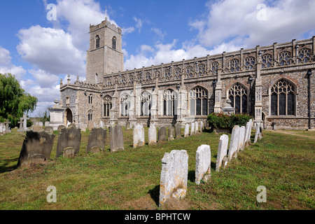 The Cathedral of the Marshes, Blythburgh, Suffolk, England - Stock Photo