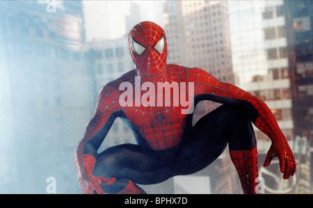 TOBEY MAGUIRE SPIDER-MAN; SPIDERMAN (2002) - Stock Photo