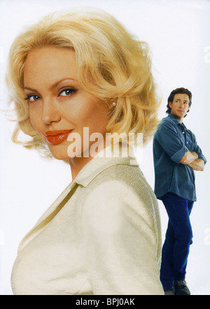 ANGELINA JOLIE & EDWARD BURNS FILM ARTWORK LIFE OR SOMETHING LIKE IT (2002) - Stock Photo